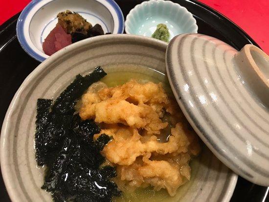 Tenichi Kyoto Isetan: 締めの天茶
