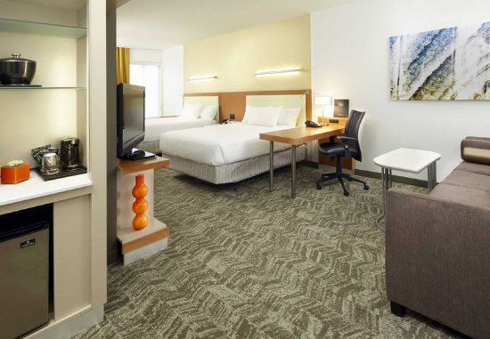 SpringHill Suites Chicago Waukegan/Gurnee: Guest room