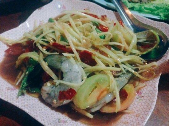 Moom Aroi Na Phu Ruea: ส้มตำ
