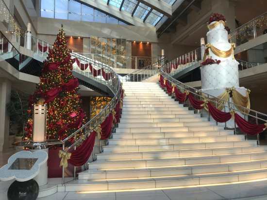 Hotel Keihan Universal Tower: ロビー階段