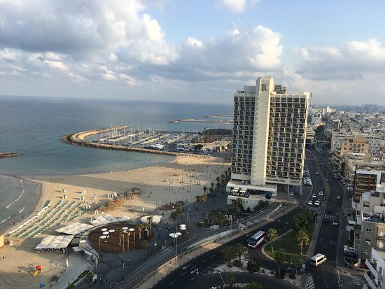 Sheraton Tel Aviv: View from the (upgraded) room