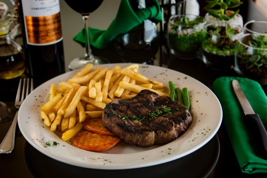 The Green Restaurant: Grilled Rib Eye