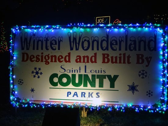 Ladue, MO: Winter Wonderland Sign
