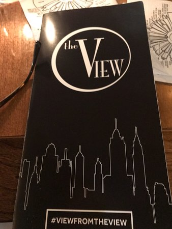The View Restaurant & Lounge: Our Date night in the NYC cocktails and appetizers before the Lion King at Amsterdam Theater
