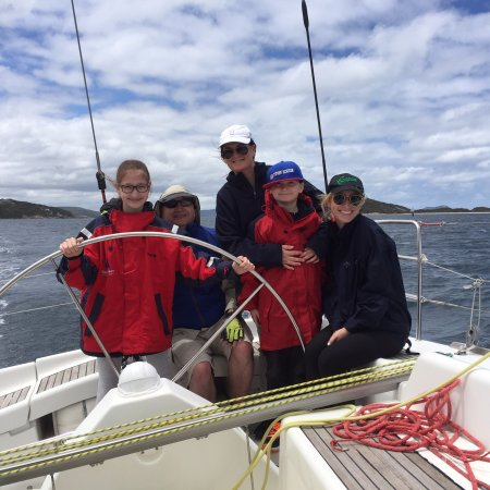 Southern Ocean Sailing: Amazing half day with Mark and Karina, with their expert sailing tuition. See you again soon for