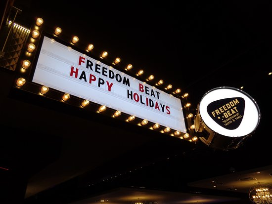 Freedom Beat: front sign