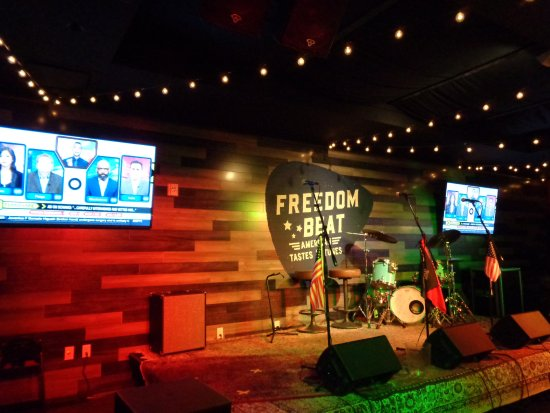 Freedom Beat: stage