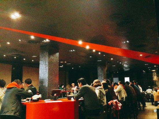 A Er Fabulous Hot Pot: 一樓用餐區