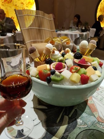 Minamo: Food platter and Japanese plum wine