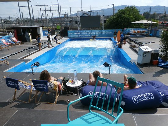 Urbansurf: A fun time whether you ride or just relax by the surf