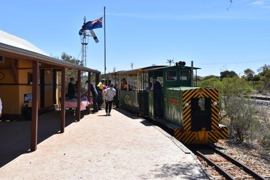 Red Cliffs Historical Steam Railway: Diesel engine for the fire season