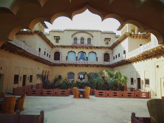Neemrana's Tijara Fort-Palace