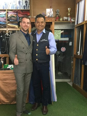 Mr K Best Tailors: My customer No.2941 From England