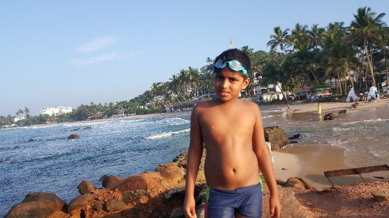 Giragala Village: having fun in the beach