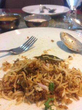 Andhra Kitchen: Special Mutton Keema Biryani
