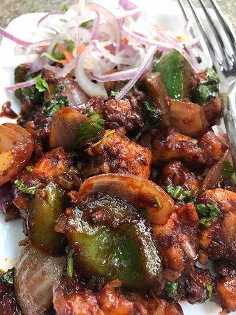 Andhra Kitchen: Gobi Manhucian Dry ( Spicy )