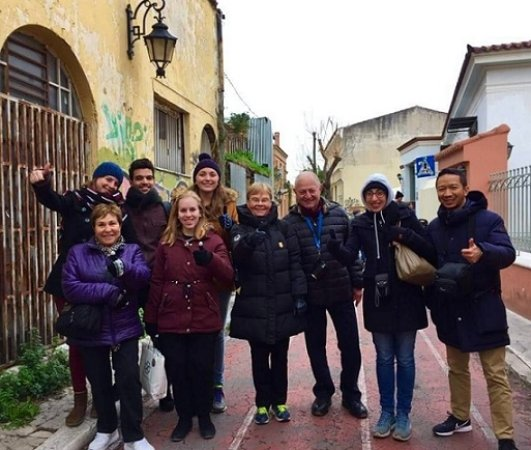 Athens Free Tour: Tour with On The Right Track - 21/12/2017