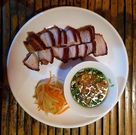 Restaurant & Cafe Tuan: Crispy pork was yummy