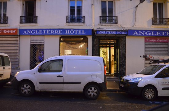 Hotel Angleterre: entree hotel
