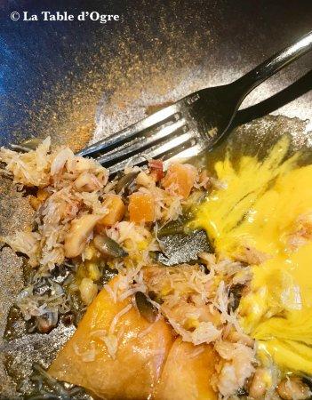 La Maison Dans le Parc: Emietté de crabe