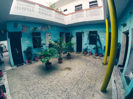 Hotel Yogi Lodge: Vue extérieure des chambres du bas