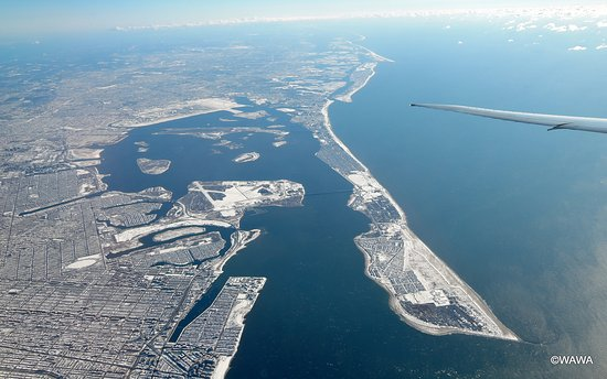 Breezy Point, NY: フォート・ティルデン(Fort Tilden)は、ロックアウェイ半島(The Rockaway Peninsula)の先端部にある国立保養地区の一部