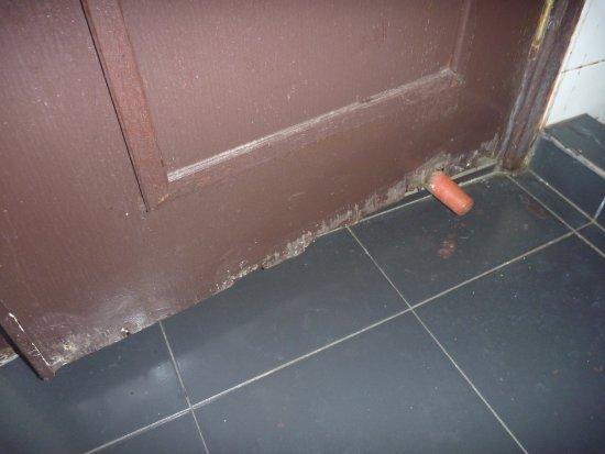 Copthorne Hotel Cameron Highlands: Rotten bathroom door