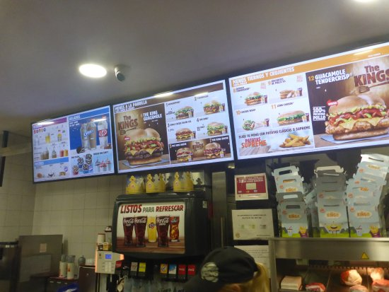 Restaurants Italian Near Me: Picture Of Burger King, La