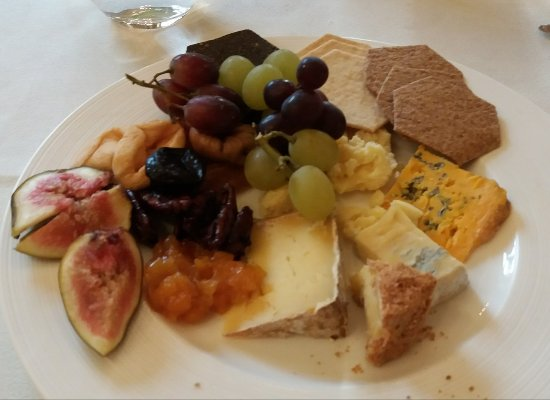 The Royal Automobile Club: Our cheese selection