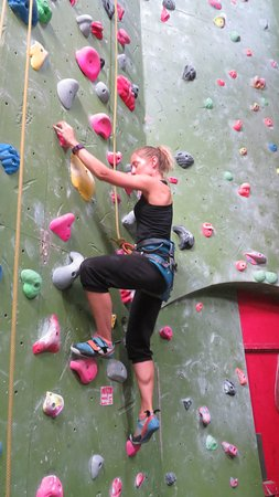 London, UK: Indoor climbing