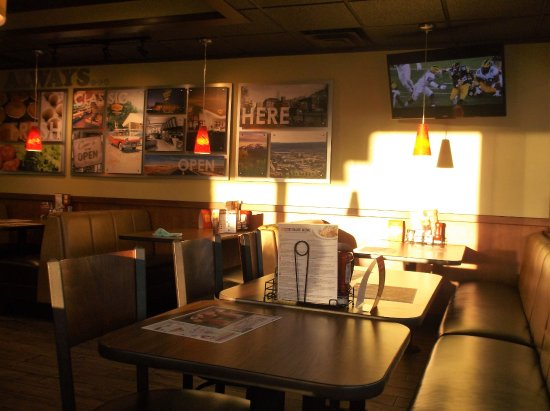 Denny's: 11-08-2017 / photo prise de notre table