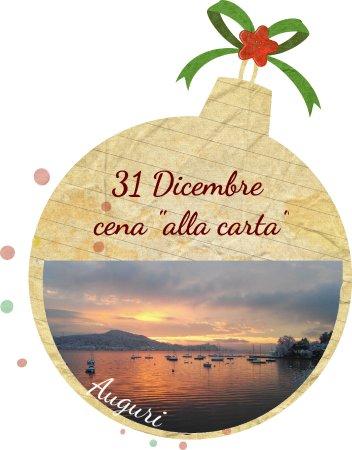 """Meina, Italy: Il 31 Dicembre al Bella Vista una serata tranquilla con cena """"alla carta"""""""