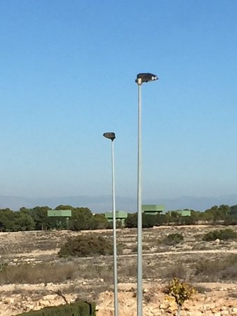 Parque Natural De Torrevieja: Bird watching hides on the La Mata side of the lake.