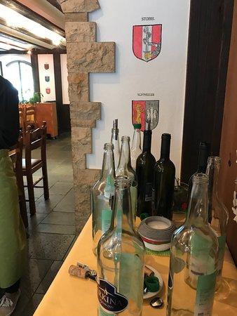 Restaurant Malteserkreuz: die verschiedenen Familienwappen