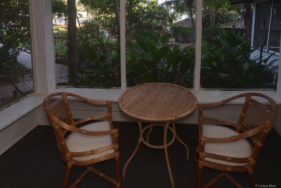 Barracuda Resort: varanda da Suite Standard