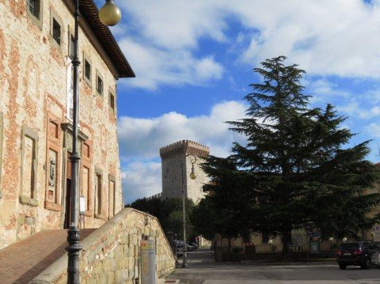 View of Rocca del Leone