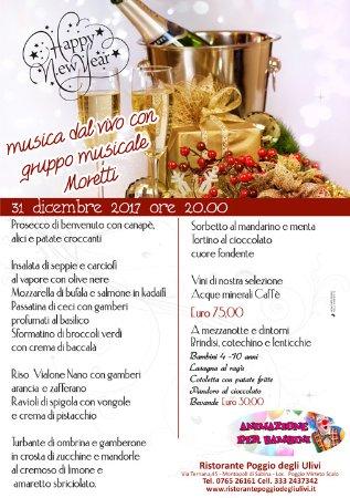 Cenone di Capodanno 2017 - San Silvestro