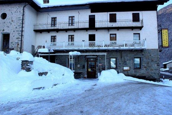 Valpelline, Ιταλία: L'entrée du restaurant