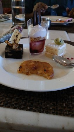 The Zuri Whitefield Bangalore : Delicious lunch