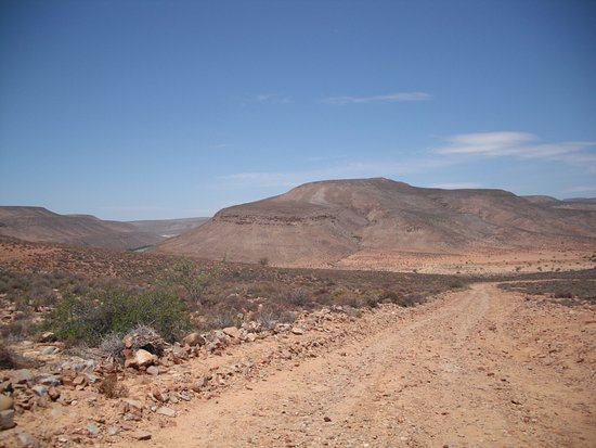 Tankwa Karoo National Park, แอฟริกาใต้: General view of rough road surface