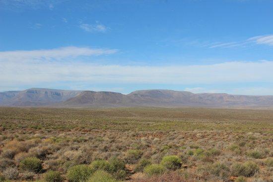 Tankwa Karoo National Park, แอฟริกาใต้: View across to Roggeveld