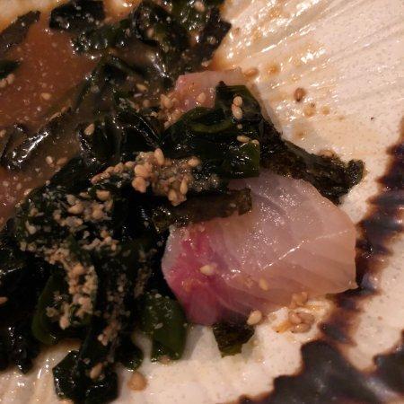 Jomon Roppongi : Yellow tail in sesame sauce. Delish.
