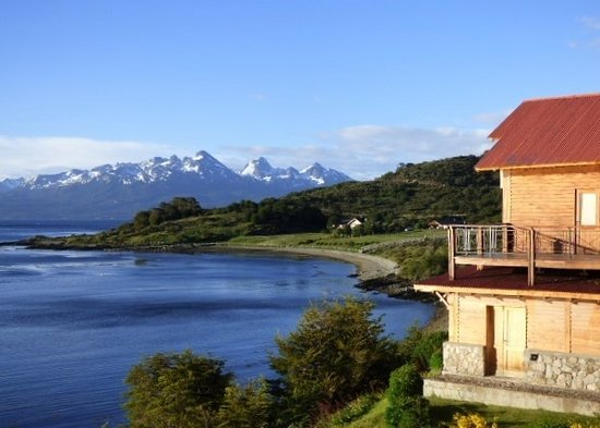 Los Cauquenes Resort & Spa: Woke up to this view over to Chile