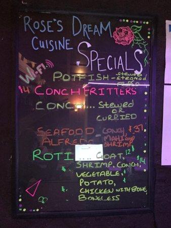Rose S Dream Cuisine St Croix Restaurant Reviews Phone Number