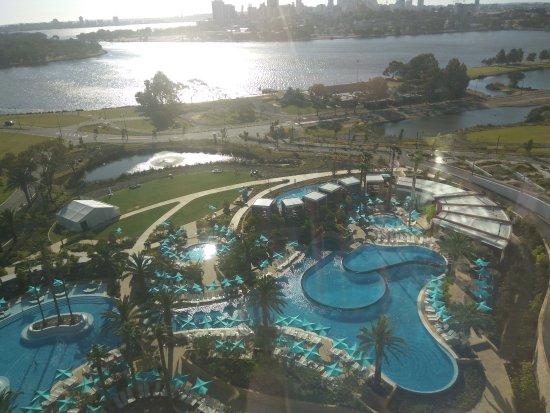 Crown casino swimming pool perth