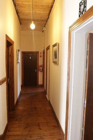 Our hallways lined with vintage pictures of Cape Town