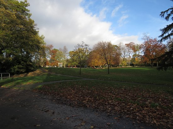 Alloa, UK: open parkland