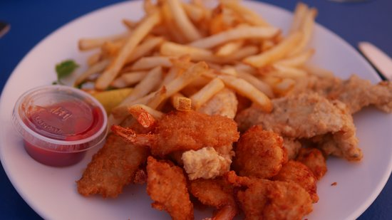 St. George's Parish, Bermuda: Seafood Platter