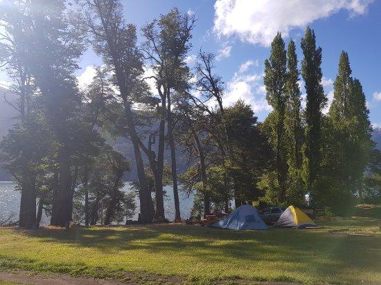 Los Alerces National Park, Argentyna: Camping Organizado Lago Rivadavia