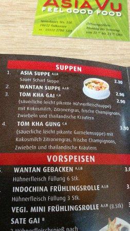 Falkensee, Germany: Asia Vu Feel Good Food